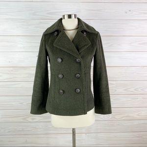 J. Crew Jacket Wool Warm Winter Size XS Petite